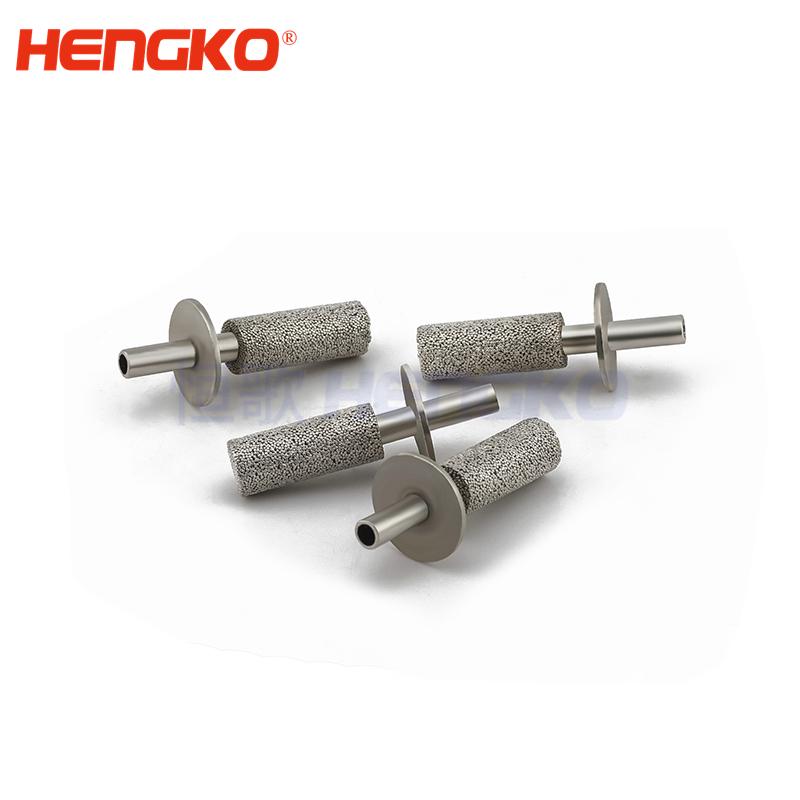 sintered stainless steel muffler silencers