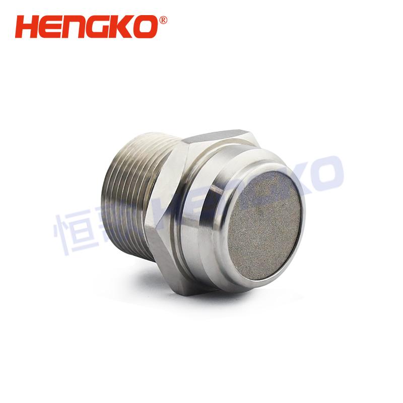 Custom sintered porous metal filter element