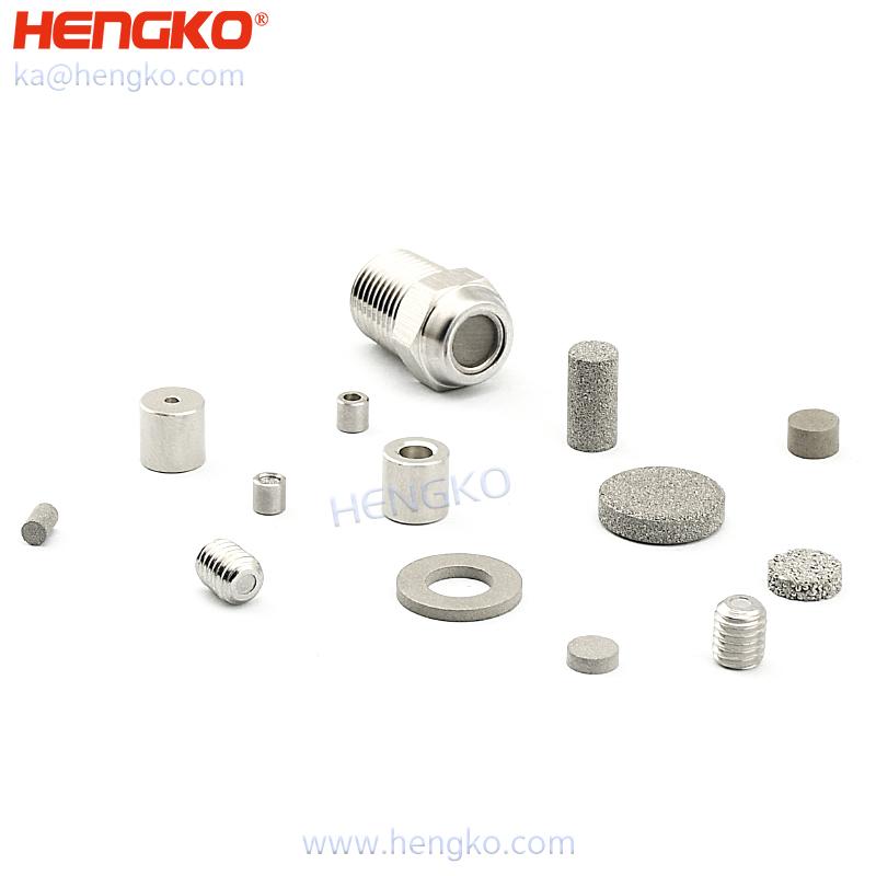 porous metal snubbers