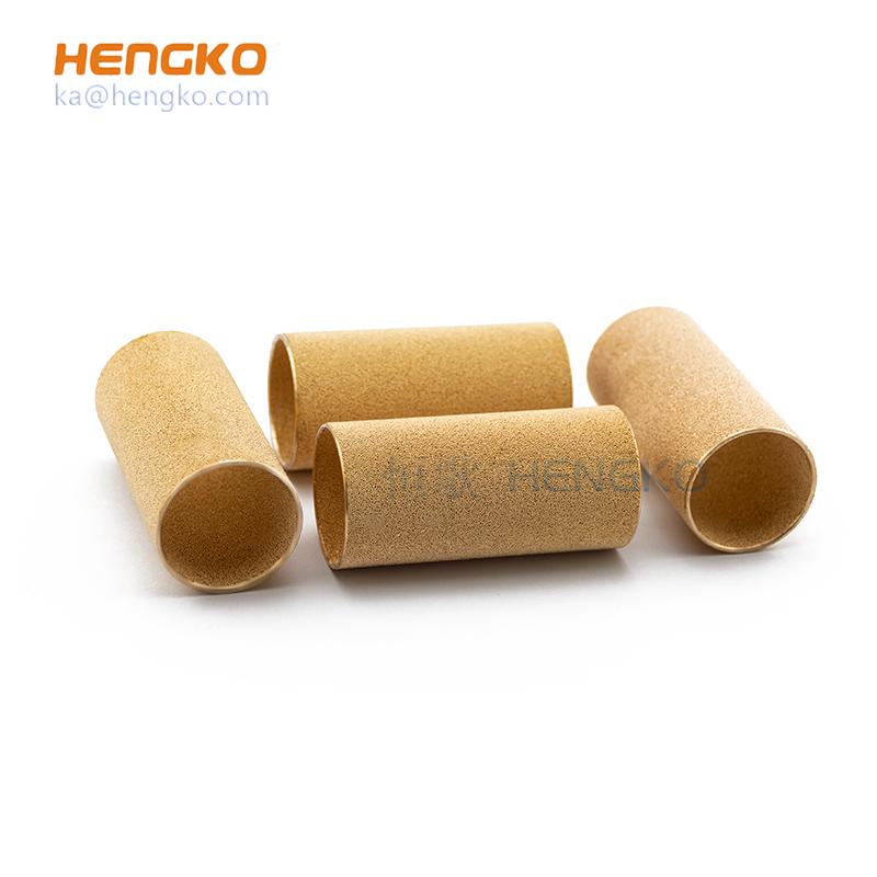 bronze tube filter