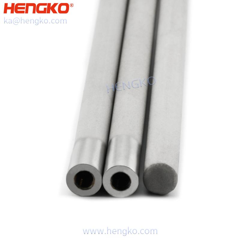 porous metal straight tube