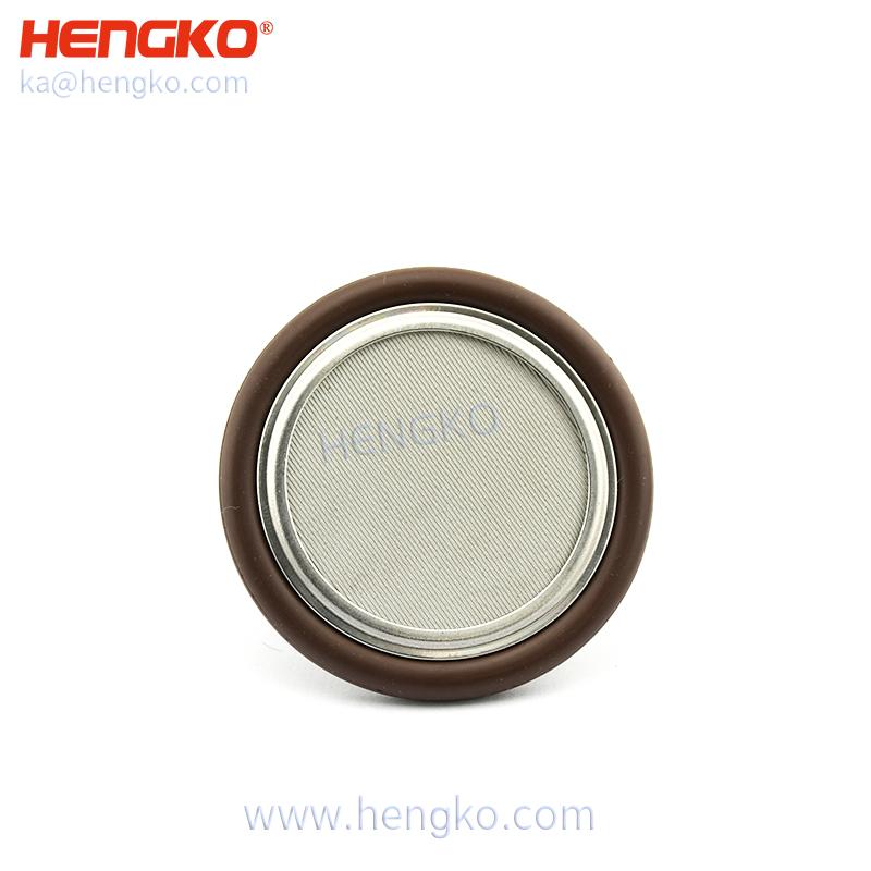 stainless steel vacuum kf certering ring filter