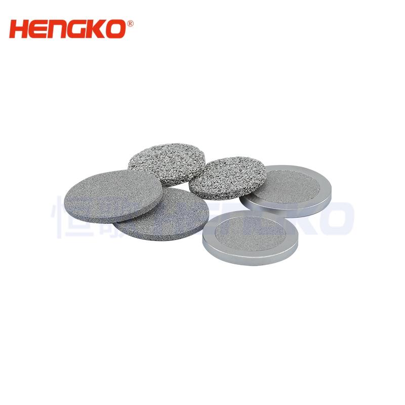 micron sintered filter disc