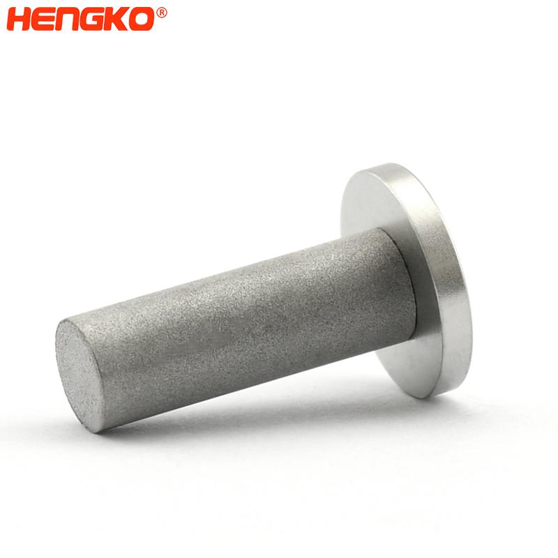 3D Printed porous metal filter